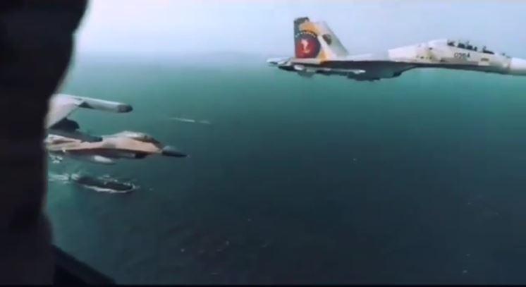 [Vidéo] Venezuela : des chasseurs vénézuéliens Su-30 et F-16 escortent le navire-citerne iranien Forest sous l'œil de Washington