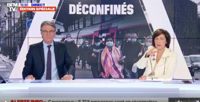 Réunion de jeunes à Paris : déjà taxée de télé macronienne, pour le déconfinement BFM devient auxiliaire de police