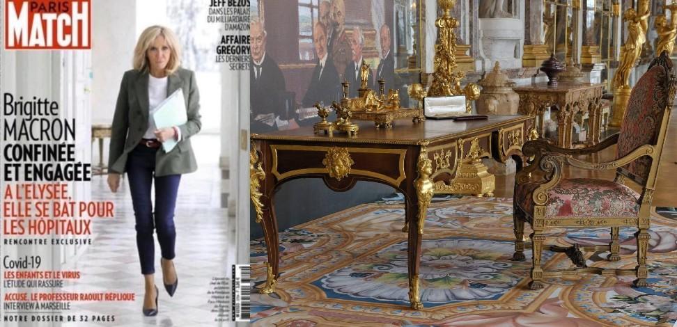 Nouveau scandale : Brigitte Macron veut vendre le mobilier national, bien appartenant à l'Etat, pour «combattre le Covid 19» !