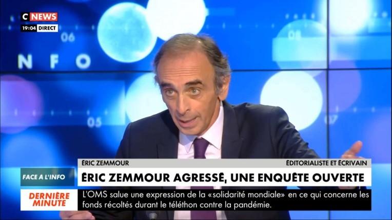 """""""On s'est enrichi intellectuellement"""" : les chroniqueurs de Face à l'info rendent hommage à Zemmour, « J'ai découvert un homme de cœur » (Vidéo)"""