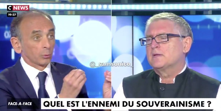 Eric Zemmour face à Michel Onfray : « notre désaccord ne se situe pas entre les riches et les pauvres mais entre les Français et les étrangers. Il faut redonner la préférence aux Français ! » (Vidéo)
