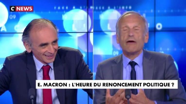 Zemmour : « Macron n'a aucune opposition : LR a abandonné la Nation, le PS a abandonné le Peuple, LFI a pactisé avec les islamo-gauchistes… » (Vidéo)