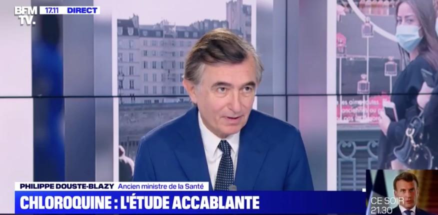Chloroquine: L'ancien ministre Douste-Blazy conteste l'étude anti-chloroquine sur laquelle Véran veut s'appuyer pour interdire l'hydroxychloroquine