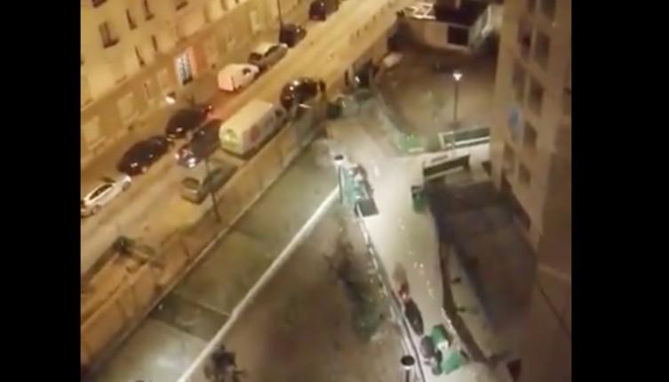 Gaza à Paris : Tirs de mortier en plein Paris (19e) à la cité Blanche la nuit dernière (Vidéo)