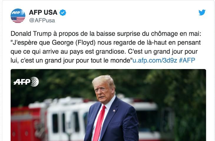 L'AFP en flagrant délit de mensonge : l'agence fait dire à Donald Trump des propos hors contexte pour le ridiculiser… (Vidéo)