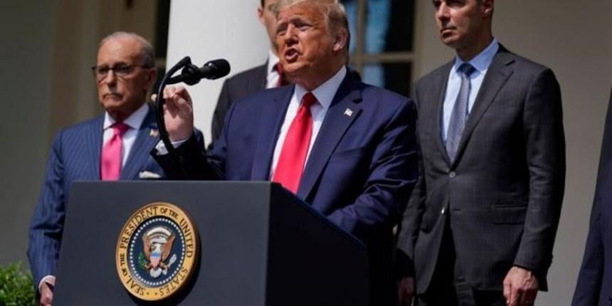 Donald Trump prépare un décret pour sanctionner quiconque enfreindrait l'embargo sur les armes contre l'Iran