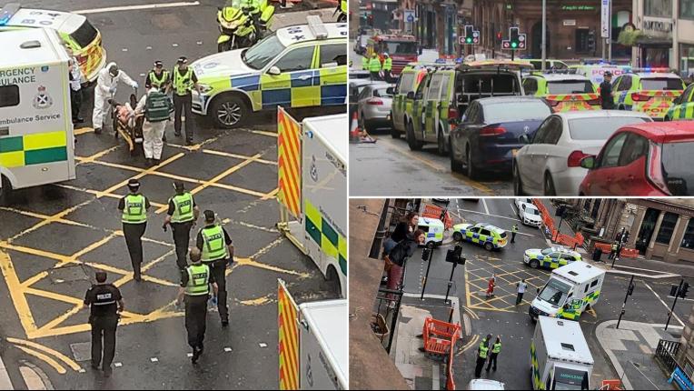 Attaque au couteau «pas terroriste» à Glasgow : le terroriste est un migrant soudanais qui « se plaignait de la nourriture » dans le bel hôtel dans lequel il était hébergé(Vidéo)