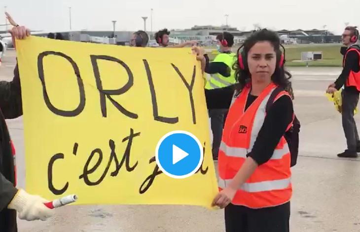 Orly : A peine rouvert, les gauchistes d'Extinction Rebellion bloquent les pistes en toute impunité en exigeant l'interdiction des vols intérieurs… si cela avait été des identitaires ils seraient déjà tous en prison ! (Vidéo)