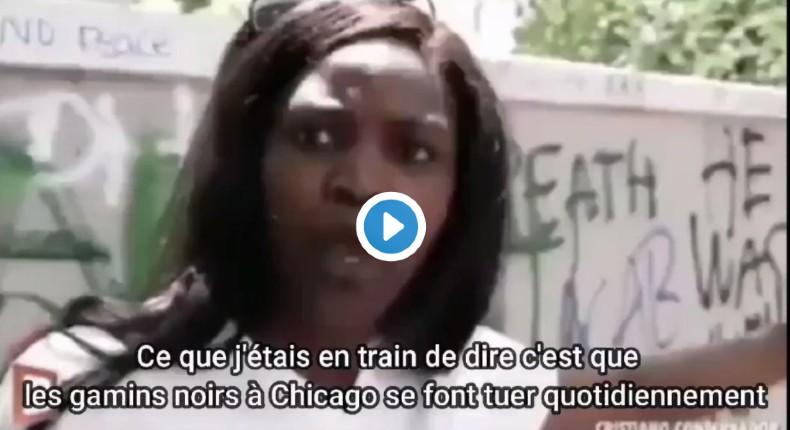 Une Américaine explique à une Blanche qu'elle n'est pas oppressée en tant que Noire : « Chaque jour un Noir est tué par un Noir à Chicago, où est Black Lives Matter ? » (Vidéo)