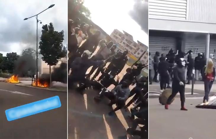 Violences ethniques à Dijon : seulement 4 interpellations, 3 remises en liberté sans charges retenues, une condamnation à une amende…