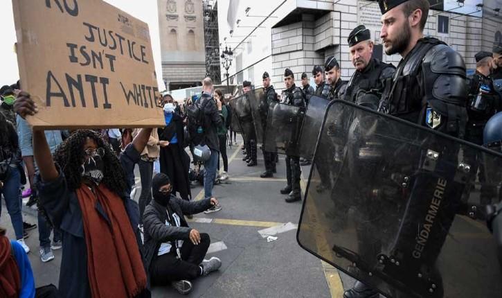 Metz : le procureur blessé lors de la manifestation interdite contre les violences policières