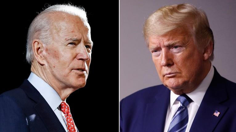 Selon un nouveau sondage, le Président Trump et le candidat démocrate, Joe Biden, sont à égalité