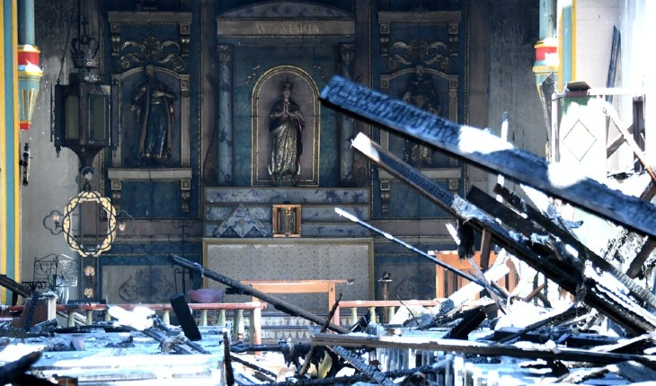 Après les statues, les églises sont brûlées et vandalisées – pas en Egypte, mais en Amérique – par les islamo-gauchistes