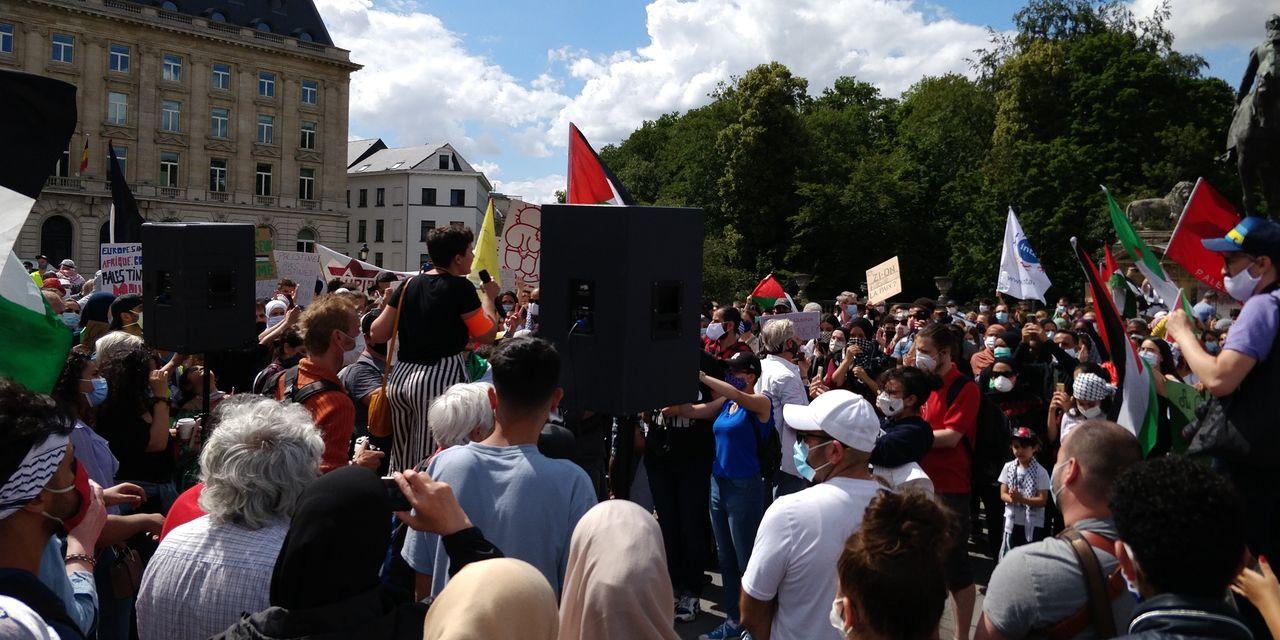 «Des appels à la guerre contre les juifs dans les rues de Bruxelles»: le CCOJB scandalisé, le bourgmestre ouvre une enquête