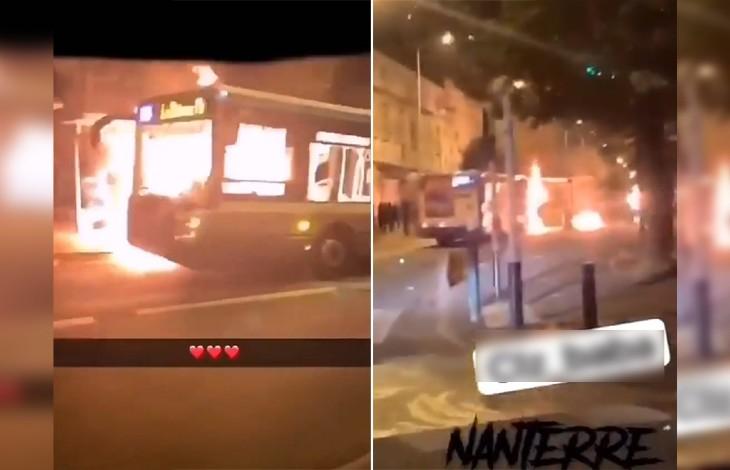 La racaille fête le 14 juillet: Un bus RATP et un gymnase incendiés à Nanterre, des dizaines de véhicules brûlés en Seine-Saint-Denis, à Pantin, Drancy et à Bobigny…