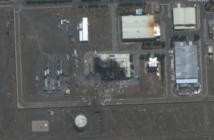 Iran: Les trois quarts du hall d'assemblage des centrifugeuses de Natanz détruits