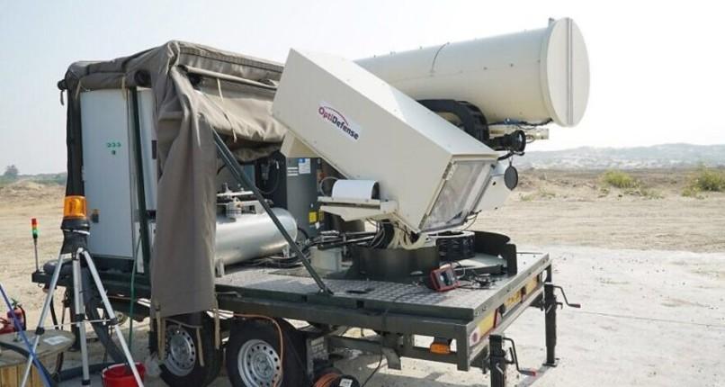 Israël déploie son système de défense laser Light Blade conçu pour intercepter toutes menaces aéroportées à la frontière de Gaza