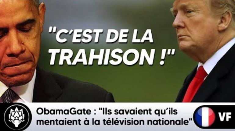 Obama gate: comment Obama et Clinton ont conspiré contre Trump en inventant l'affaire de collusion avec la Russie, vidéo que vous ne verrez jamais dans les médias français