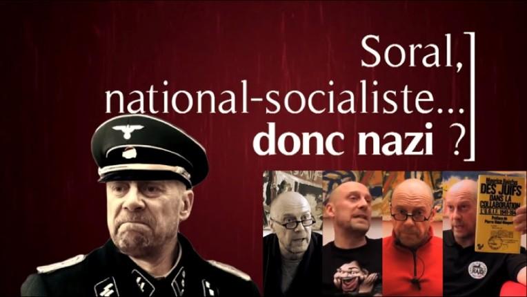 L'antisémite néo-nazi Soral interpellé par trois policiers en civil