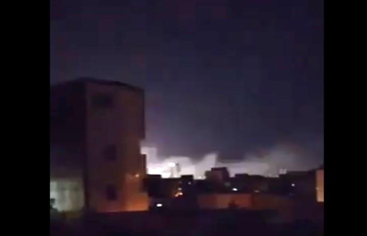 [Vidéo] Une «pluie d'explosions» mystérieuses au centre des «Gardiens de la Révolution» à Tabriz en Iran