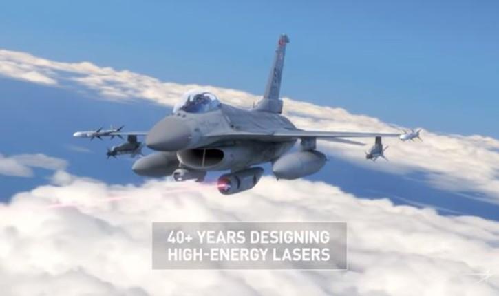 [Vidéo] Des avions F-16 pourraient être équipés d'ici cinq ans d'un système d'arme laser pour abattre des missiles air-air ou sol-air