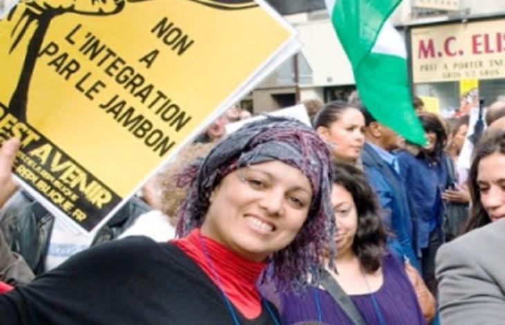 """""""On ne peut pas être Israélien innocemment"""" : la musulmane radicale Houria Bouteldja vomit sa haine contre Miss Provence sur Mediapart"""