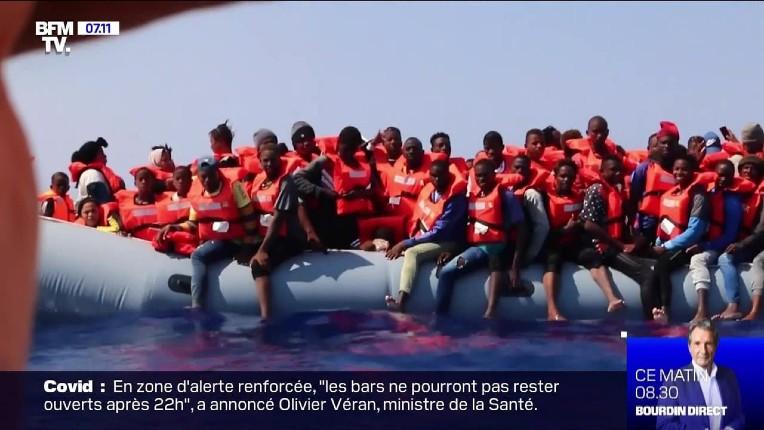 "Le navire ""Alan Kurdi"", avec 125 migrants à bord, se dirige vers la France"