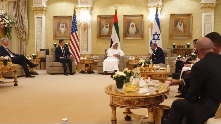 Israël-Emirats arabes unis : Un premier accord économique, notamment pour bloquer les fonds du terrorisme