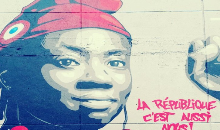 Seine-Saint-Denis : le maire communiste de Stains inaugure une fresque à l'effigie de Danièle Obono en Marianne