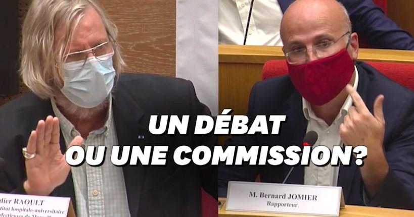 Hydroxychloroquine : Le professeur Raoult clashe le sénateur écolo Jomier anti-chloroquine (Vidéo)