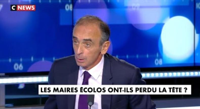 """Zemmour : """"L'ennemi des écolos n'est pas la pollution mais le peuple français avec ses traditions, sa culture, ses habitudes, sa grandeur"""" (Vidéo)"""