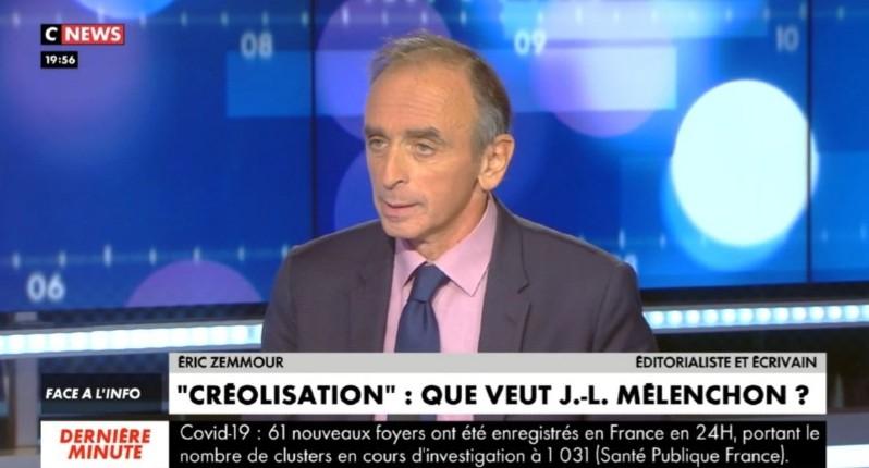"""Zemmour : """"La droite identitaire défend la France. La gauche identitaire dit : La France blanche et catholique doit crever !"""" (Vidéo)"""