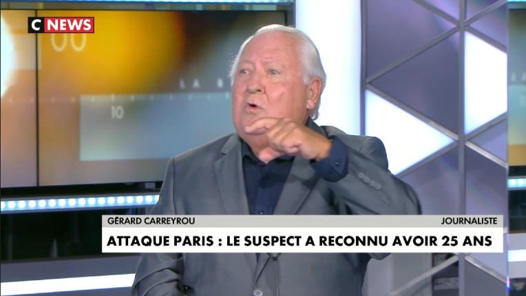 """""""Vous trouvez que c'est normal de laisser entrer en France ces gens qui viennent du Pakistan et qui mentent sur leur origine, leur passeport et leur âge ?"""" s'insurge Gérard Carreyrou (Vidéo)"""