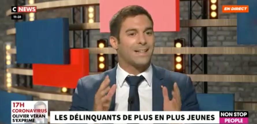 Julien Odoul réclame que les médias publient les prénoms de tous les délinquants «pour savoir s'ils sont issus de l'immigration» (Vidéo)