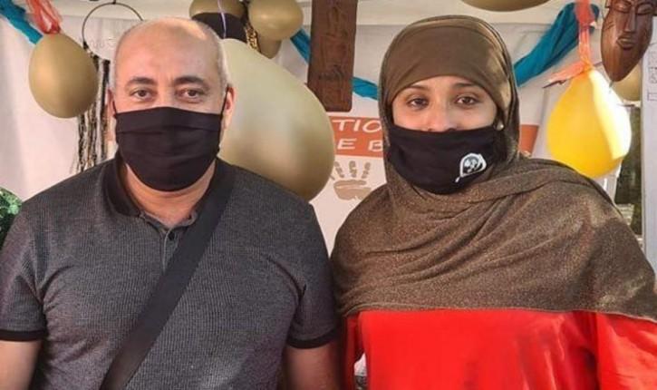 Bobigny : Abdel Sadi nouveau maire PCF, en compagnie de Lynda Benakouche, épouse d'un membre du gang des barbarescondamné à dix-huit ans de prison