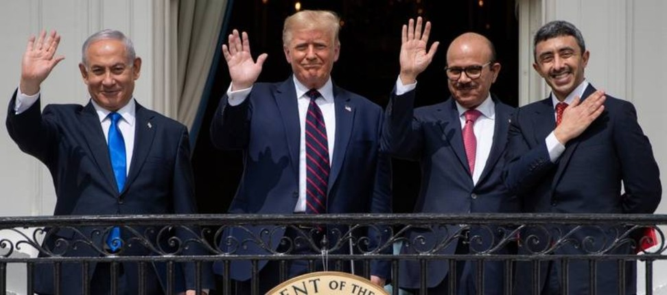 Accords de paix: Donald Trump «De nombreuses autres nations sont prêtes. Il va y avoir la paix au Moyen-Orient. Cinq ou six pays pourraient suivre» l'exemple des Emirats et de Bahreïn