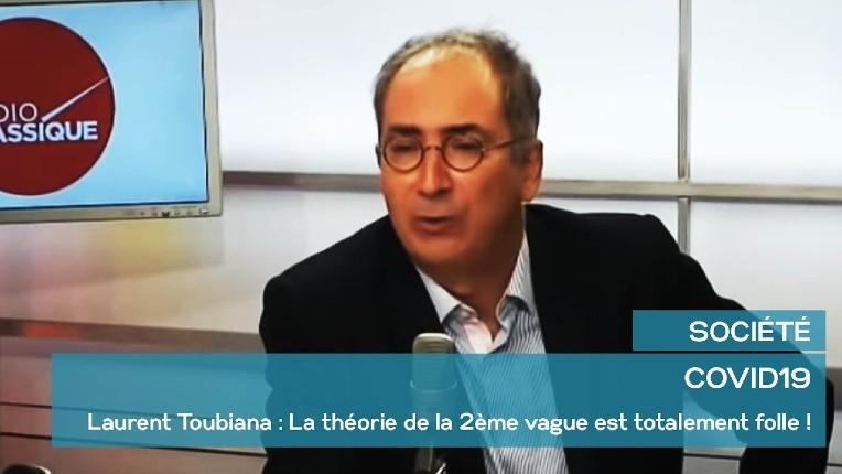 Le Pr Toubiana : «La théorie de la 2ème vague est totalement folle !», le Pr Toussaint «L'épidémie est 300 fois moins puissante qu'en Mars !» (Vidéo)