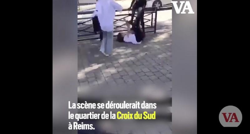 Agression d'une adolescente filmée devant un collège à Reims : Déjà exclu 3 fois de son collège pour violences, Nabil n'exprime aucun regret