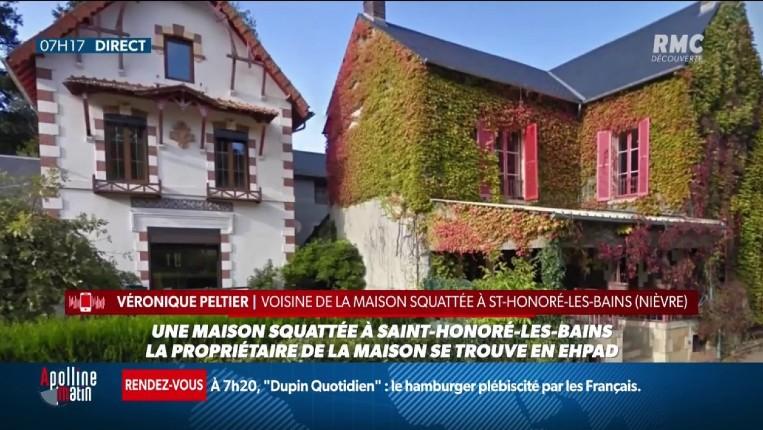 """Maison squattée dans la Nièvre : Les propriétaires empêchés d'y accéder. """"Ça va exploser ! Les habitants veulent se faire du squatteur"""""""
