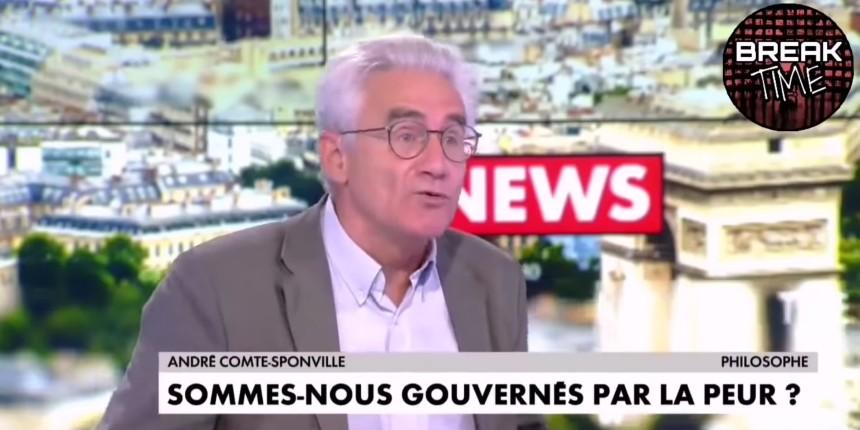 André Comte-Sponville clashe le gouvernement «Je préfère attraper la covid dans une démocratie, plutôt que de ne pas l'attraper dans une dictature.» (Vidéo)