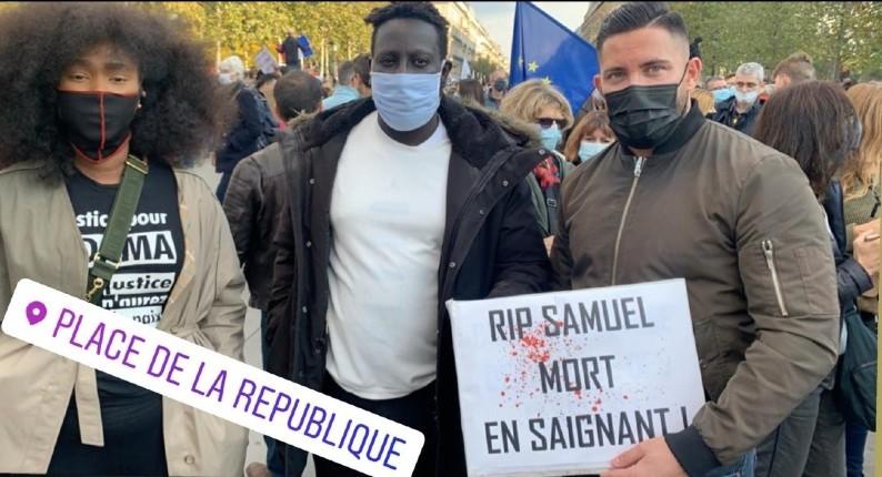 """""""Mort en saignant !» : l'odieuse récupération d'Assa Traoré à l'hommage au professeur décapité"""
