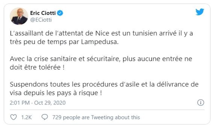 Attentat basilique Nice