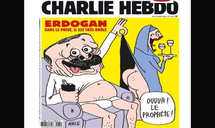 Charlie Hebdo sur Erdogan