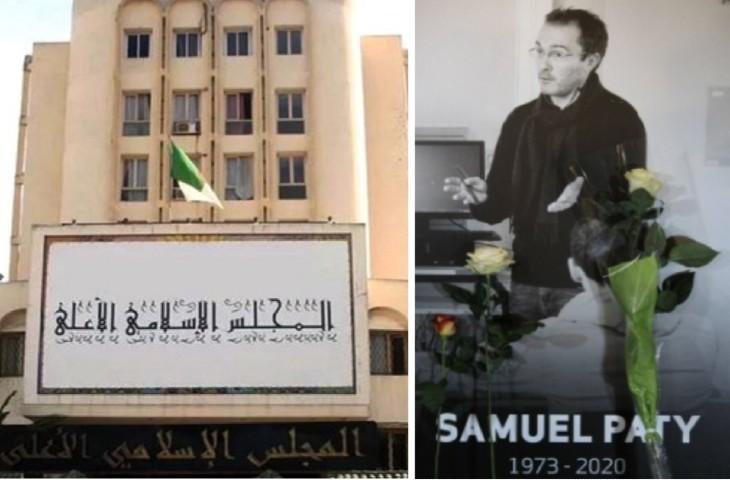 Décapitation de Samuel Paty-le Haut Conseil Islamique algérien