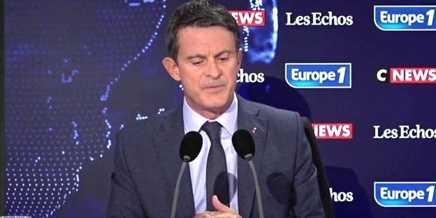 """Manuel Valls évoque des """"dysfonctionnements"""" de l'administration et appelle à montrer les caricatures de Mahomet dans toutes les écoles à la rentrée (Vidéo)"""