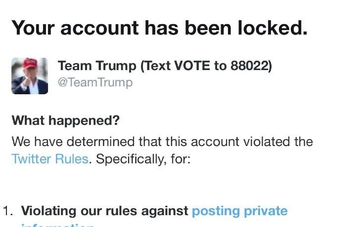 USA: A quelques jours des élections, Twitter suspend le compte Team Trump pour avoir publié une vidéo dénonçant les mensonges de Joe Biden