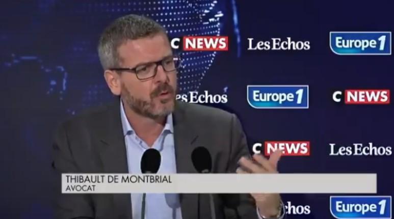 """Thibault de Montbrial : """"Ceux qui prônent l'islamisme politique sont aussi dangereux que les terroristes… Le CCIF est une association islamiste qui joue un rôle extrêmement trouble. Il faut interdire les Frères Musulmans"""" (Vidéo)"""