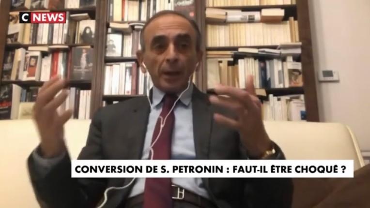 Zemmour libération Pétronin