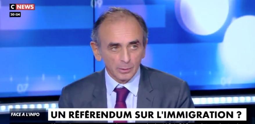 Zemmour référendum immigratiob