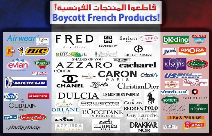 Des Arabes appellent au boycott des produits français sur les réseaux sociaux